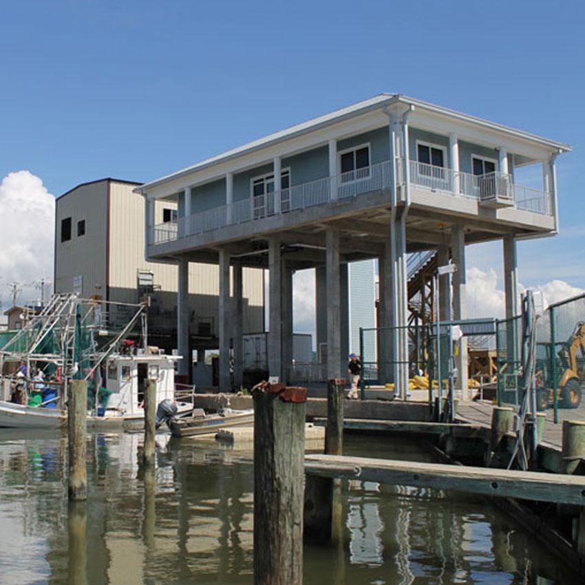 Pass Christian Harbor Master Building