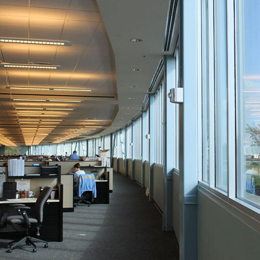Office Buildings Watermark Design