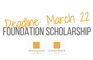 Thompson Foundation scholarship